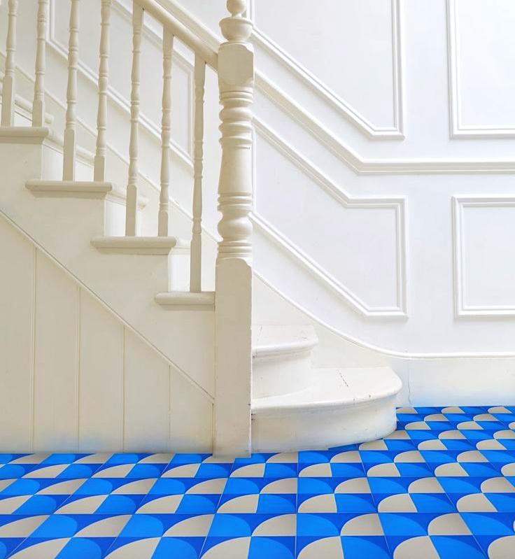 Suelo geometrical dreams de Lindsey Lang