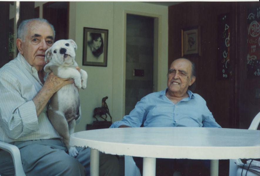 Athos e Niemeyer 01