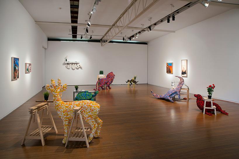 Instalación en la galería Roslyn Oxley9 (Sidney)