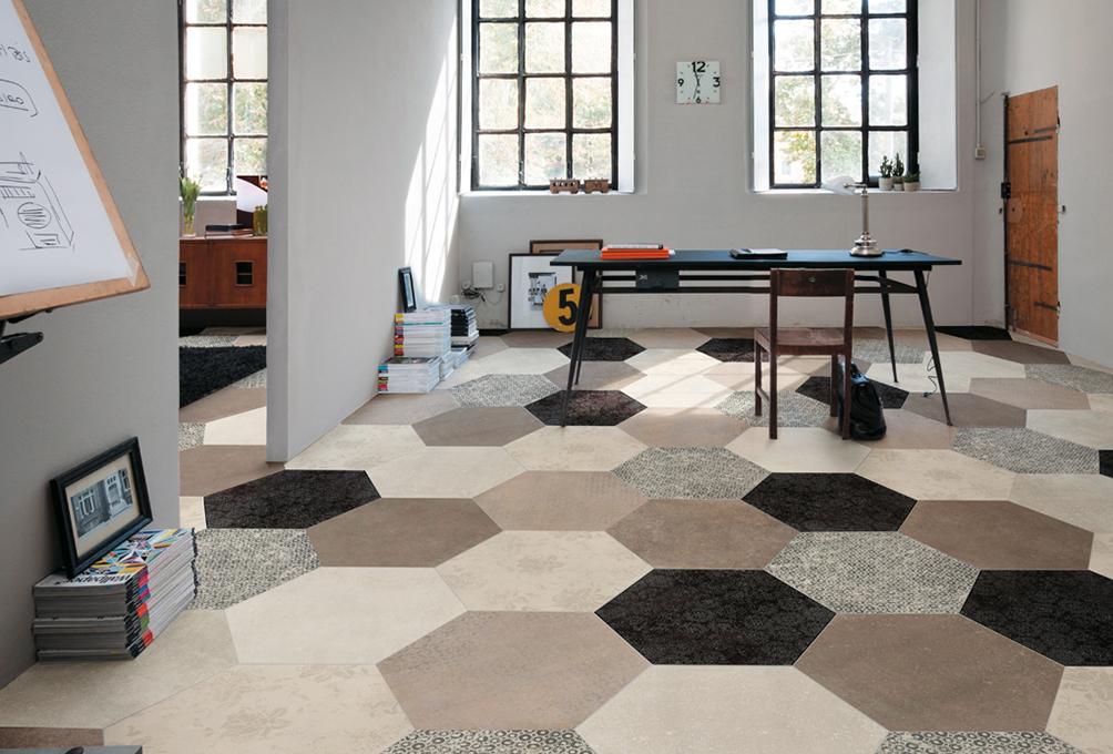Ejemplo 'geometrical dreams': heritage, de Mirage.
