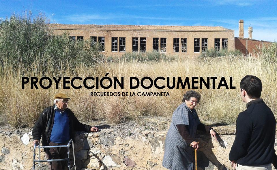 Segundas Jornadas de socialización de la Campaneta (Onda, 2015): proyectan documental.