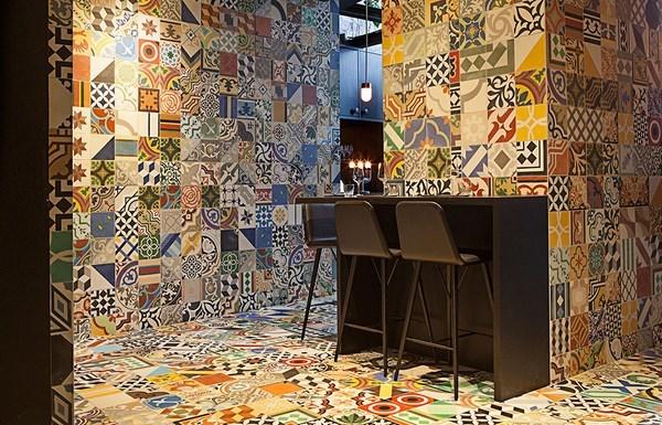 Ejemplo de tendencia ECLECTIC WAY en un restaurante de Copenhague